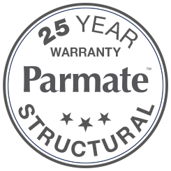 25 Year Warranty Parmate Structural